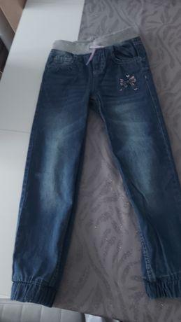 Spodnie  dziewczęce 122