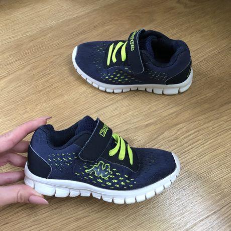 Granatowe sportowe dziecięce buty Kappa 26 oryginalne wygodne buciki n