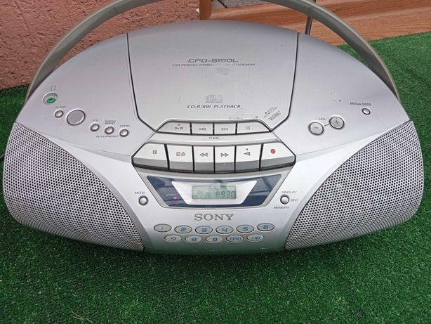 Radio-magnetofon z cd