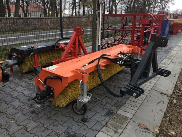 Zamiatarka Szczotka hydrauliczna sterowana siłownik TUZ TUR euro PL CE