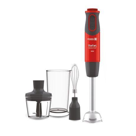 Blender ręczny TEFAL OPTICHEF czerwony HB643538