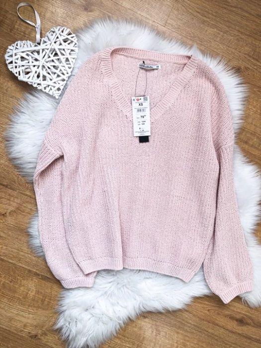 nowy sweterek pudrowy roz House z szenyli S/M Sokołów Małopolski - image 1