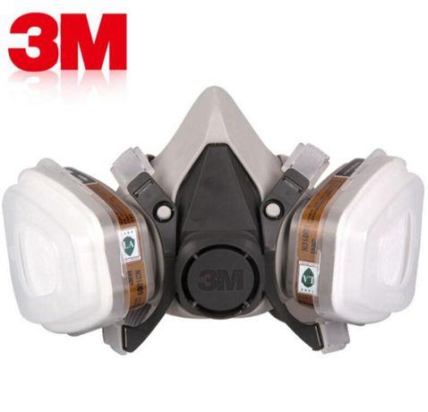 Респиратор полумаска 3М 6200, фильтр 6059 АВЕК1 полный комплект.