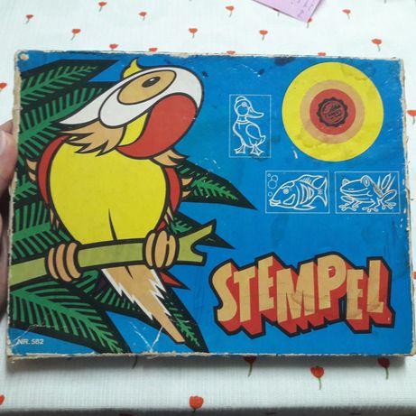 Штампы для детей. Раритет. ГДР 1975 год. Детские печати. Животные.