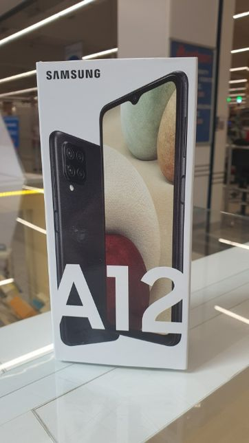 Telefon Samsung Galaxy A12 64GB / Czarne, Białe / VAT 23% / Fonmix