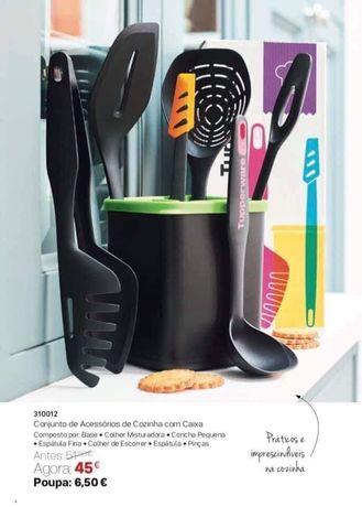 Conjunto de acessórios de cozinha Tupperware