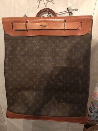 Mala de viagem grande para sapatos VINTAGE Louis Vuitton Original