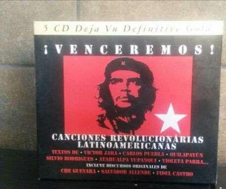 Canções revolucionárias set box 5 cds raro