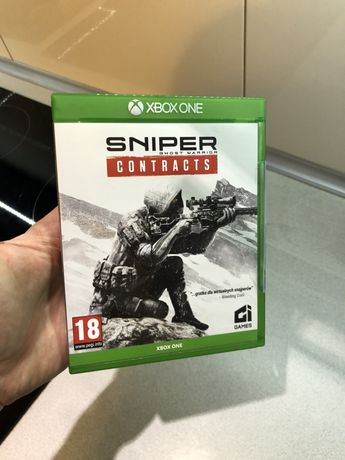Gra Sniper Ghost Contracts PL Xbox One S X Series