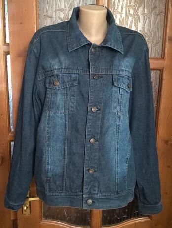 Красивая мужская джинсовая курточка-пиджак, размер 50-52 укр., Италия