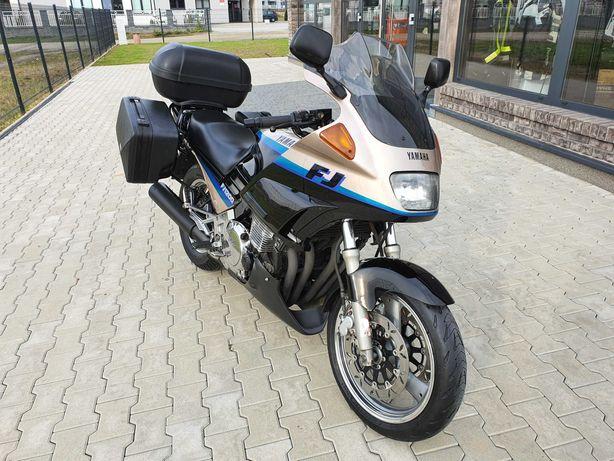 Yamaha Fj 1200 Przepiękna 3 kufry podgrzewane manetki RATY DOWÓZ