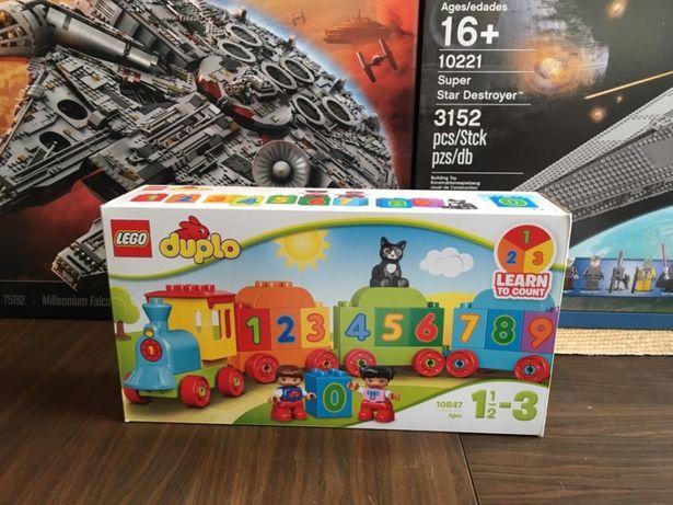 Lego 10847 Duplo Pociag z Cyferkami Nowe Oryginalne Lego