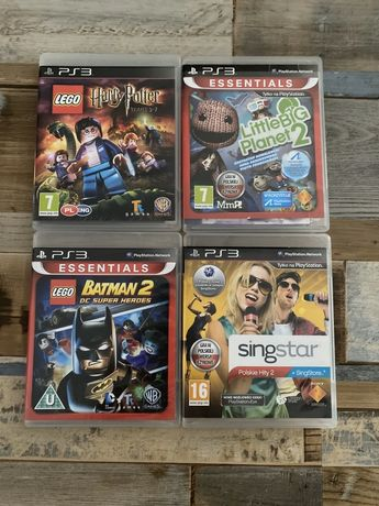 PlayStation Ps 3 Lego Harry Potter Batman Little Big Planet 2 Singstar