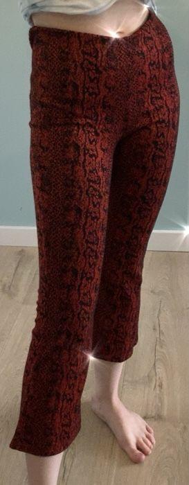 spodnie y2k rozkloszowane dzwony flared zara y2k Strzepcz - image 1