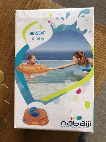 Koło basenowe Decathlon nabaiji jak nowe.  BB-SEAT 11-15 kg