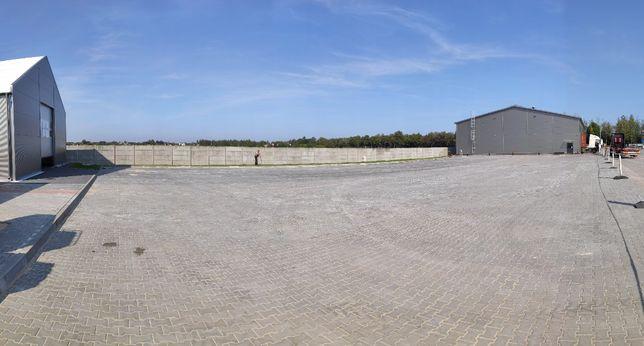 Wynajem placu wybrukowanego Sochaczew 1700 m2