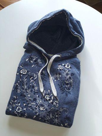 Bluza H&M z ozdobnym haftem, rozmiar S