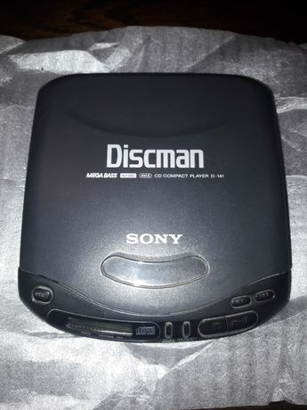 Leitor de CD portátil Sony