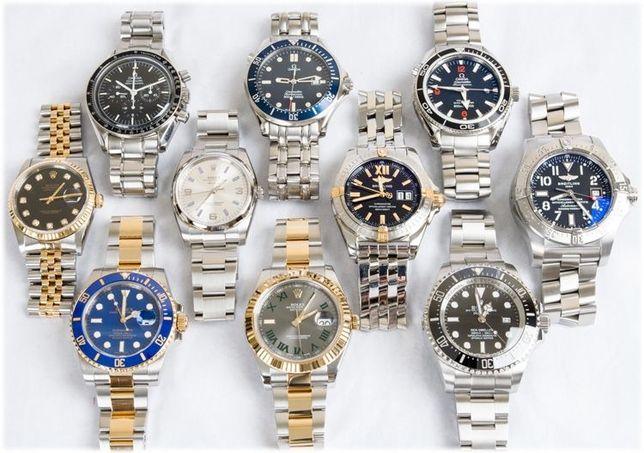 Skup zegarków ekskluzywnych OMEGA ROLEX Zenith Breitling
