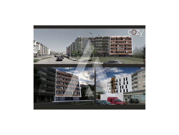 Apartamento T2 NOVO com terraço.