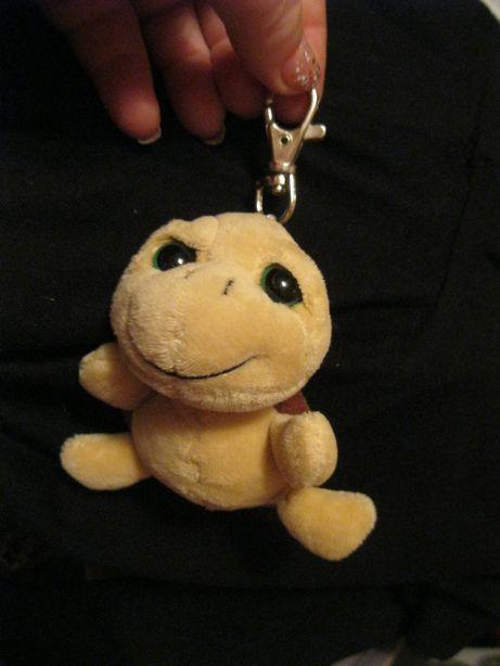 мягкая игрушка черепаха карабин фирменная можно на рюкзак черепашка