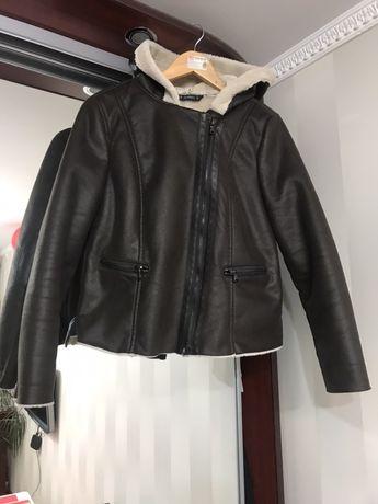 Куртка косуха с капюшоном