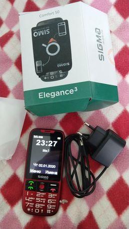 Телефон,бабушкофон Sigma Elegance 3