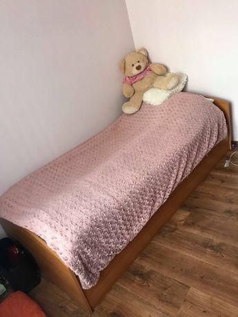 Łóżko + Nowy materac IKEA