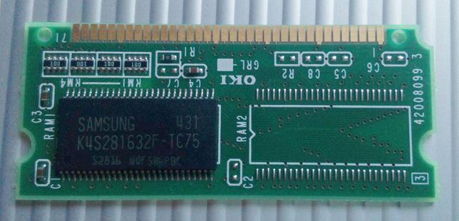 RAM i PostScript do drukarki OKI B4350