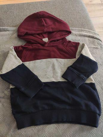 Bluza h&m trójkolorowa 86
