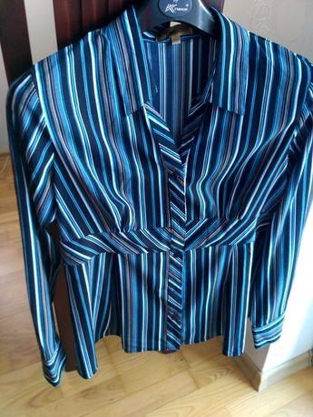 koszula bluzka damska L święta wieczorowa imprezowa nowa
