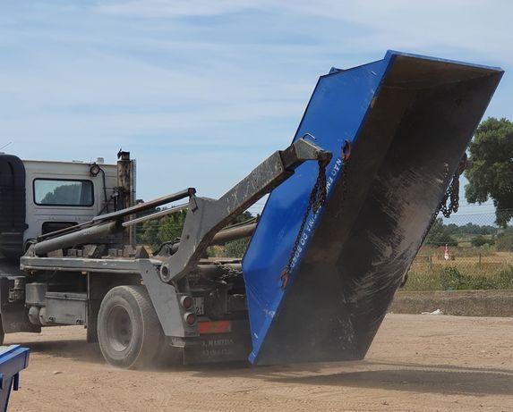 BENAVENTE alugamos contentores para entulho de obras, resíduos urbanos