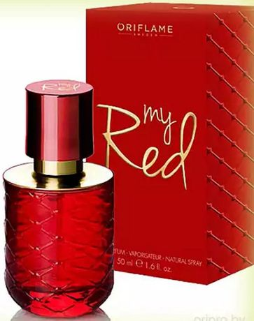 My Red Imagination Sublime Nature Tuberose Oriflame
