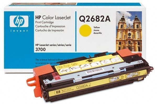 Toner HP Laserjet 3700 (Q2682A) Yellow