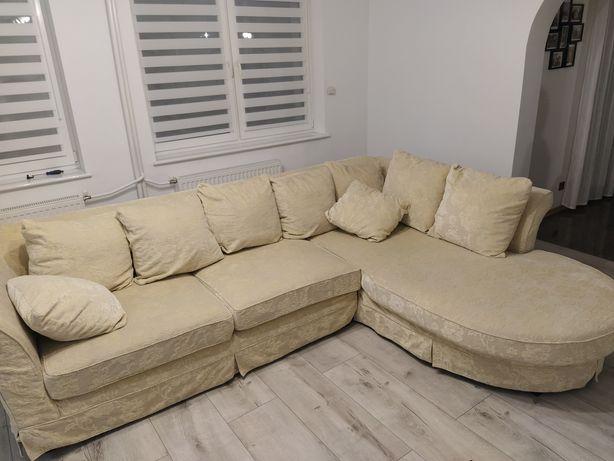 Sofa narożna(możliwość prania)