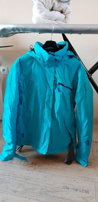 Kurtka Salomon S + spodnie berkner na snowboard lub narty jak nowe