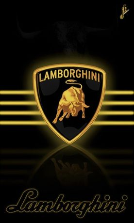 Placas decorativas retro da Lamborghini , novas, 30 x 20 cm