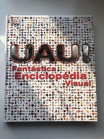 """Livro """"UAU Fantástica Enciclopédia Visual"""" (NOVO)"""