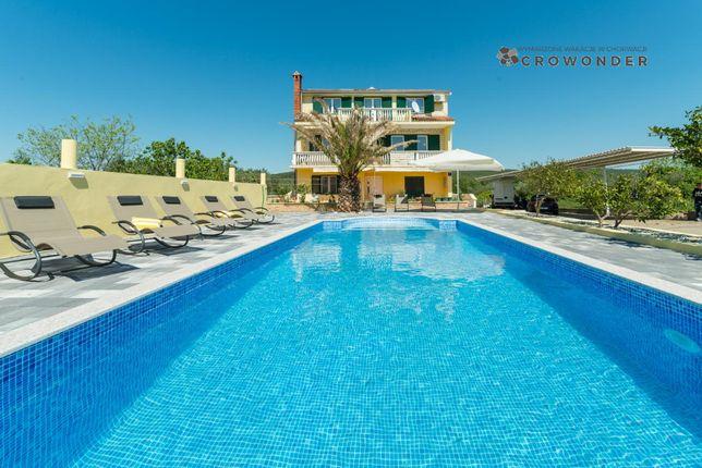 CroWonder, Chorwacja2021, willa z basenem dla 10, 14 lub 24 osób