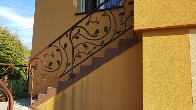 Ogrodzenie balustrady