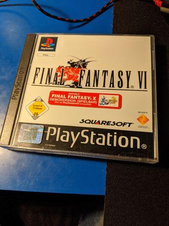 Final Fantasy VI 6 PS1 PSX PAL Playstation COMPLETO