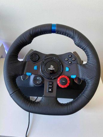 Logitech G29 (Volante e pedais) Windows e Playstation