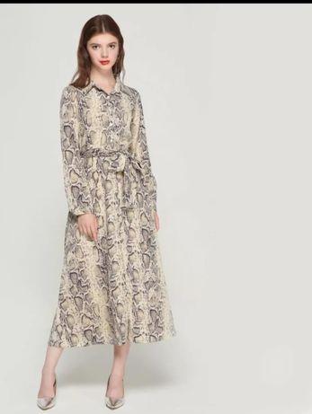 Sukienka print węża