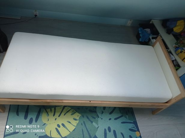 Łóżko Ikea tapczan 160*70+ materac sprężynowy