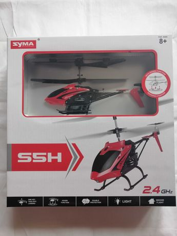 Helikopter Zdalnie Sterowany SYMA S5H RC RED 01