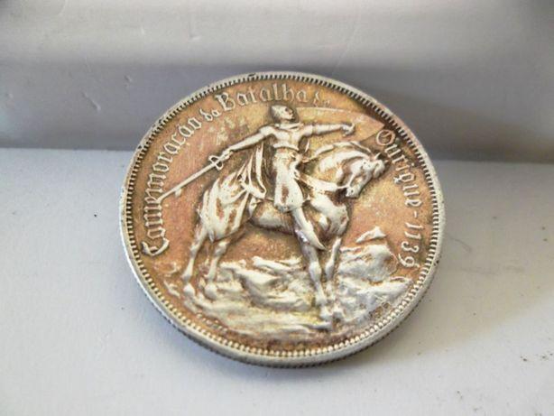 antiga pregadeira de moeda portuguese 10 Esc em prata de 1928