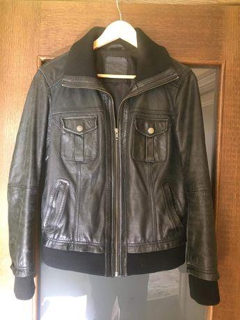 Кожаная куртка женская 48 р