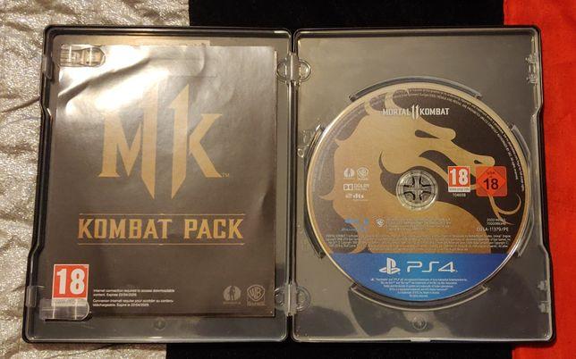 Mortal Kombat 11 Premium Edition Steel Case PS4