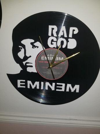 Relógio de Parede em Vinil - Eminem