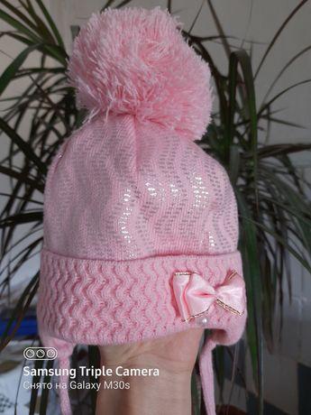 Продам детскую демисезонную шапочку